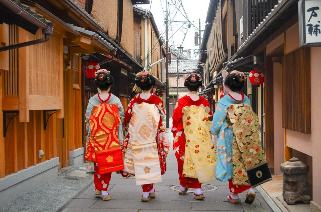Walk through the geisha quarters of Gion, visit temples & shrines.  Read More!